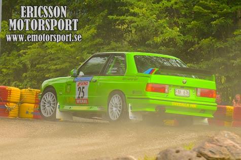 Hansens son debuterar i rallycross