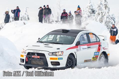 Hirvonen i topp i norska rallyt 3
