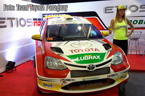 © Team Toyota Paraguay